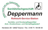 Logo Sanitätshau Deppermann